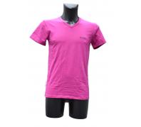 Guess férfi V nyakú poló pink méret: IV..
