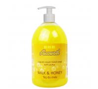 Amaril foly.szappan pumpás 1L Milk&Honey
