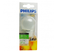 Philips LED 2W E27 P45 FR 37lm..