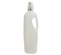 Műanyag palack csattos kupakkal 1l