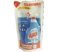 Ajax utántöltő koncentrátum ablaktisztító 250ml