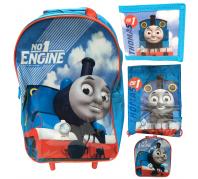 Thomas és barátai 4db-os szett (gurulós bőrönd, ovis hátizsák, pénztárca,t