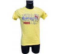 Puma férfi póló citromsárga M