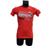 Puma férfi póló piros L