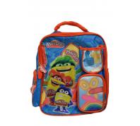 Play-Doh ovis hátizsák Piros/Kék