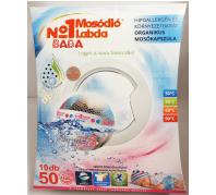No1 Mosódió labda 10db-os Baba (50 mosás)