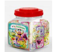 Vita Monsters vitamin nyalóka 100*6g Több íz Kínáló doboz
