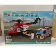 Építő mentő helikopter készlet 6+év No.83003