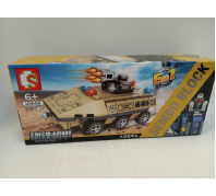Építő harckocsi 6+év No.103102