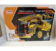 Építő 2in1 autó 6-16év No.6802