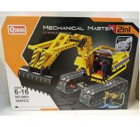 Építő 2in1 munkagép 6-16év No.6801