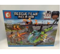 Építő helikopter 6-12év No.603019