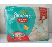 Pampers Pants bugyipelenka 32db-os 3-as méret 6-11kg
