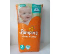Pampers Sleep&Play pelenka 78db-os 3méret 5-9kg
